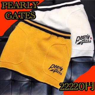 PEARLY GATES - 韓国パーリーゲイツ 日本未入荷 韓国公式パーリーゲイツAW  秋冬ミニスカート