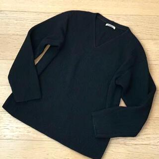 ロンハーマン(Ron Herman)のオーラリーAURALEE ウールリブニット Vネック セーター(ニット/セーター)