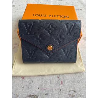 LOUIS VUITTON - 美品ルイヴィトン アンプラント ポルトフォイユ ヴィクトリーヌ 三つ折り財布