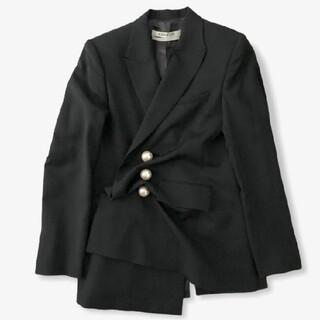 セリーヌ(celine)の〘求〙KIMHEKIMキムヘキム 21aw Venus jacket black(テーラードジャケット)