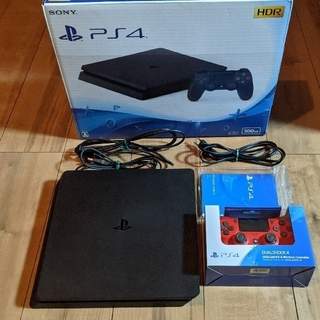 SONY - PS4 本体 500GB CUH-2100A