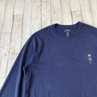 ポロラルフローレン(POLO RALPH LAUREN)のPolo RALPH LAUREN ロングスリーブ ポロベア  刺繍 ロンT (Tシャツ/カットソー(七分/長袖))