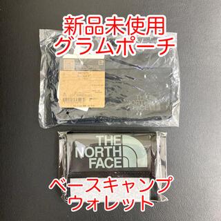 ザノースフェイス(THE NORTH FACE)の新品未使用 グラムポーチS ベースキャンプウォレット セット販売(折り財布)