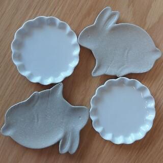 うさぎ 小皿 薬味皿