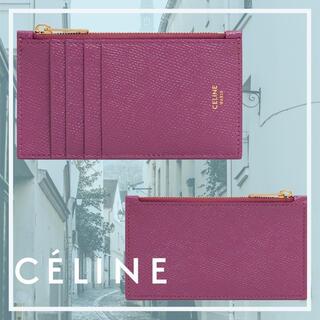 celine - 【新品】セリーヌ 限定色ワイルドベリー コインケース