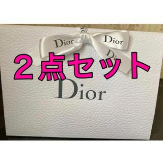 ディオール(Dior)のDIOR ディオール ギフトラッピング 2点セット プレゼント メッセージ(ラッピング/包装)