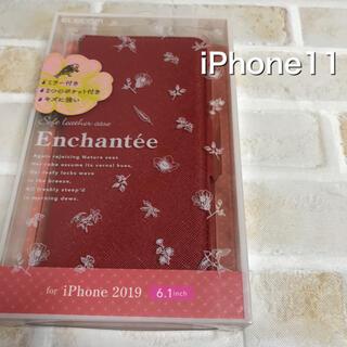ELECOM - iPhone11☆手帳型ケース☆