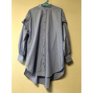 ENFOLD - 【ENFOLD】ストライプシャツ