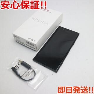 エクスペリア(Xperia)の超美品 SO-01K ブラック 本体 白ロム (スマートフォン本体)