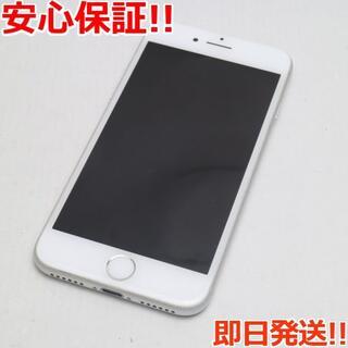 アイフォーン(iPhone)の超美品 SIMフリー iPhone7 128GB シルバー (スマートフォン本体)