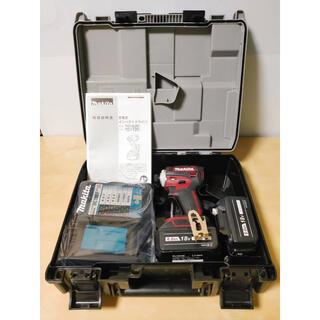 マキタ インパクトドライバー TD172DGX 赤 互換バッテリー セット