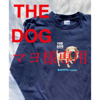アベイシングエイプ(A BATHING APE)のTHE DOG ロンT アニマル 動物 犬 ヴィンテージ ビンテージ 古着(Tシャツ/カットソー(七分/長袖))