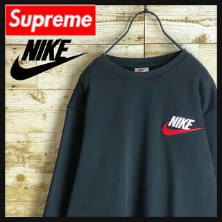 Supreme - 【限定コラボ】Supreme シュプリーム NIKE スウェット 刺繍ロゴ