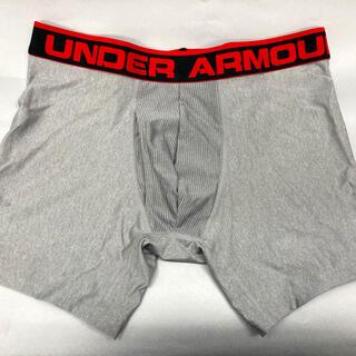 アンダーアーマー(UNDER ARMOUR)の【新品未使用】アンダーアーマー メンズストレッチボクサーパンツ M グレー(ボクサーパンツ)