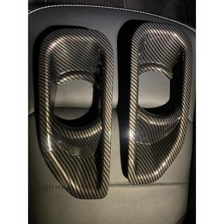 Wrangler - 美品 JL ラングラー フロントフォグランプカバー カーボン調