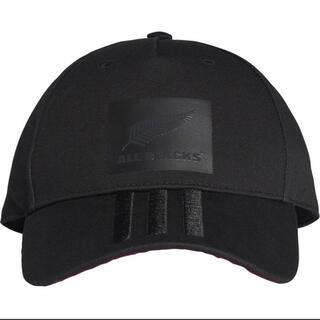 adidas - アディダス キャップ 帽子 オールブラックス 美品