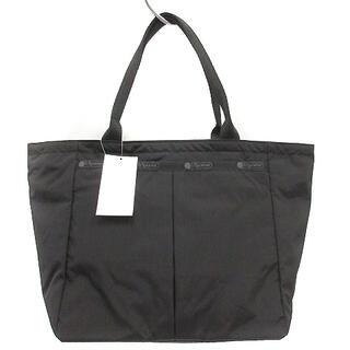 LeSportsac - レスポートサック LesportSAC トートバッグ ハンドバッグ ロゴ 黒