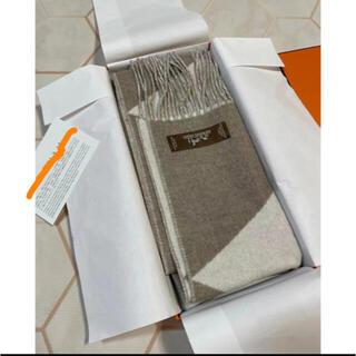 Hermes - 新品タグ付き❣️正規エルメスカシミヤマフラーCasaque Zig Zag