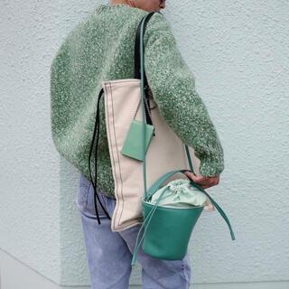 ayako Pottery Bag/EMERALD GREEN