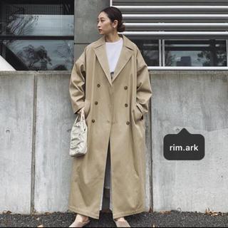 アメリヴィンテージ(Ameri VINTAGE)のRIM.ARK リムアーク Wide volume spring coat(トレンチコート)