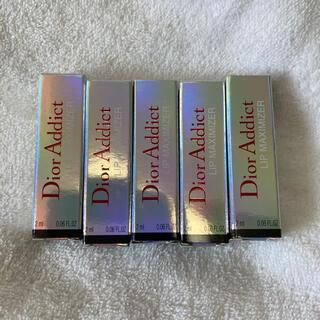 クリスチャンディオール(Christian Dior)のマキシマイザー001 ミニサイズ5本セット(リップグロス)