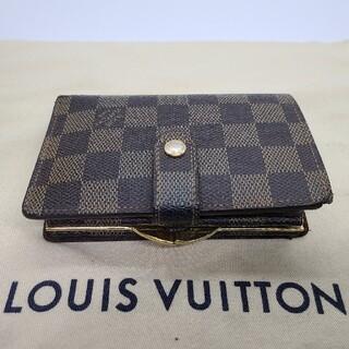 LOUIS VUITTON - ルイヴィトン Louis Vuitton ダミエ ヴィエノワ がま口財布