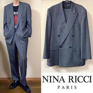 ニナリッチ(NINA RICCI)のNINA RICCI ニナリッチ セットアップ ダブルスーツ ジャケット(セットアップ)