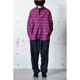 コモリ(COMOLI)のCOMOLI ウールシルク ワークシャツ(シャツ)