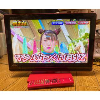 SHARP - 送料込 シャープ めちゃピンク! 19 インチ 型 液晶テレビ AQUOS