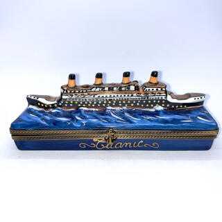 リモージュボックス/Limoges France/タイタニック クルーズ船
