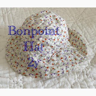 Bonpoint - Bonpoint ボンポワン 2サイズ 花柄 ハット