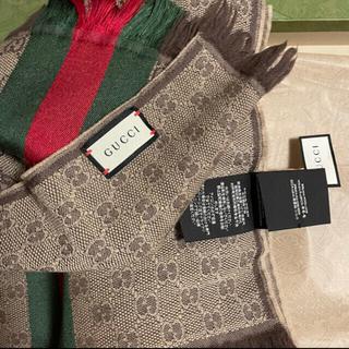 Gucci - GUCCI マフラー 2色セット 美品