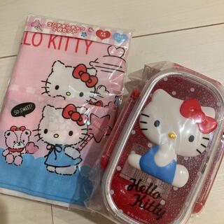 サンリオ(サンリオ)のキティちゃん お弁当箱 ランチ巾着(弁当用品)