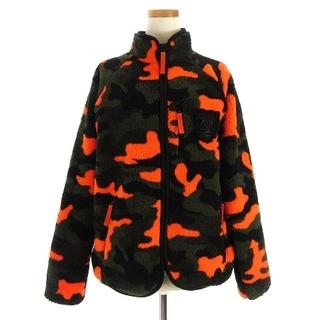 ダブルスタンダードクロージング(DOUBLE STANDARD CLOTHING)のダブルスタンダードクロージング フリースジャケット 迷彩 F(その他)
