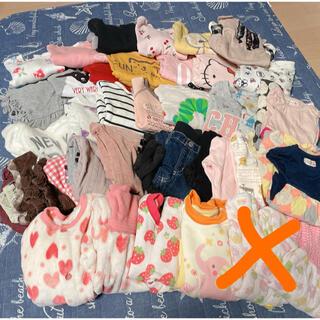 女の子用 子供服 90~95サイズ 34着まとめ売り