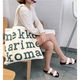 マリメッコ(marimekko)の新品マリメッコ オーガニックコットン トートバッグ♪(トートバッグ)