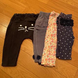 futafuta - 女の子 パンツ 4本セット 70
