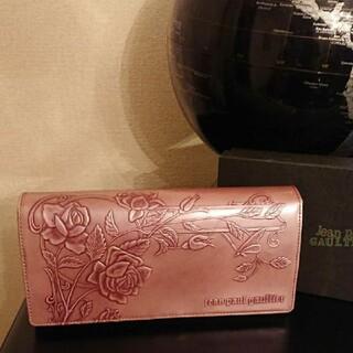 Jean-Paul GAULTIER - 【絶滅危惧種】ジャンポールゴルチエ ニューローズ ピンク 長財布 バラ  新品