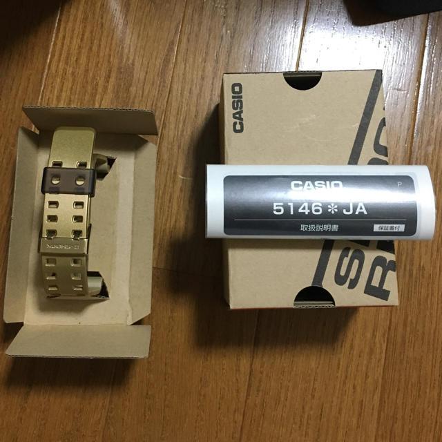 G-SHOCK(ジーショック)のジーショック ゴールド メンズの時計(腕時計(アナログ))の商品写真