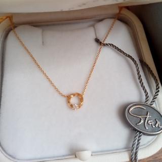 STAR JEWELRY - スタージュエリー フォーエバーループ ダイヤモンドネックレス K18