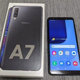 Galaxy - SAMSUNG Galaxy A7 ブラック SM-A750C 楽天モバイル