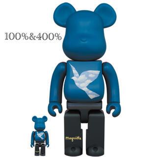MEDICOM TOY - ベアブリック René Magritte 100%&400% まぼろしのパレード