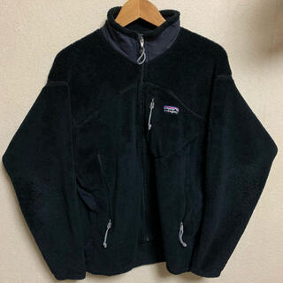 patagonia - 2000年製 Patagonia R2 フリース ボア ジャケット ブラック 黒