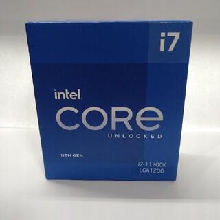 intel Corei7 11700k 新品未開封品