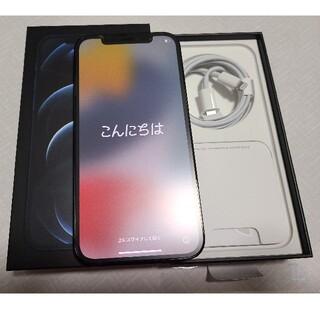Apple - 美品) iPhone 12 PRO 256 パシフィックブルー