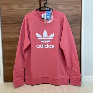 adidas - ★新品★アディダスオリジナルス ロゴ スウェット ピンク 白