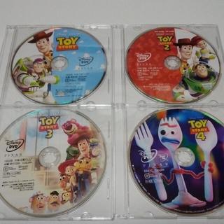 Disney - トイストーリー   4作品セット DVDディスク