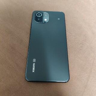 ANDROID - Xiaomi Mi 11 Lite 5G 黒 Spigenケースなど多数おまけ付