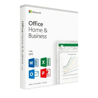 マイクロソフト(Microsoft)のOffice2019 Home Business ダウンロード版(PC周辺機器)