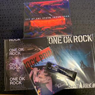 ワンオクロック(ONE OK ROCK)のONE OK ROCK プライマルフットマーク3冊(ミュージシャン)